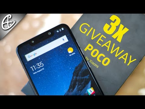 POCO F1 by Xiaomi - Unboxing & Hands On Review + 3x Giveaway 🔥🔥🔥