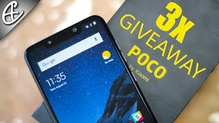 POCO F1 by Xiaomi - Unboxing & Hands On Review + 3x Giveaway