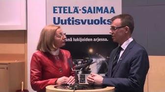 23.3.2015 Etelä-Saimaan vaalitentin kaksintaistelu Anneli Kiljunen - Ilpo Heltimoinen
