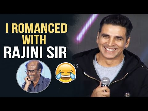 I Romanced With Rajini Sir Says Akshay Kumar | Akshy Kumar Interaction With Media | Manastars