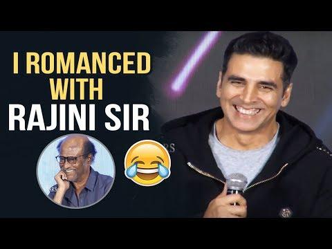 I Romanced With Rajini Sir Says Akshay Kumar | Akshy Kumar Interaction With Media | Manastars