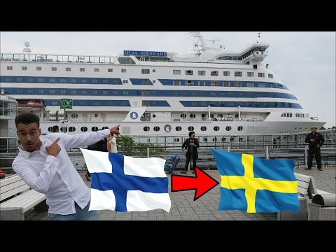 SWEDEN CRUISE SHIP HYPE - FINLAND VLOG 3