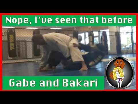 BJJ Roll No. 94 - Nope, I've seen that before - w/Gabe at Smiley Acadmey