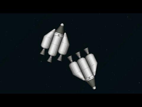 Meeting up with another Rocket in Orbit! - Spaceflight Simulator Rendezvous