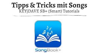 (ST) SongBook+ weitere Funktionen (Aktionen mit einzelnen Songs)