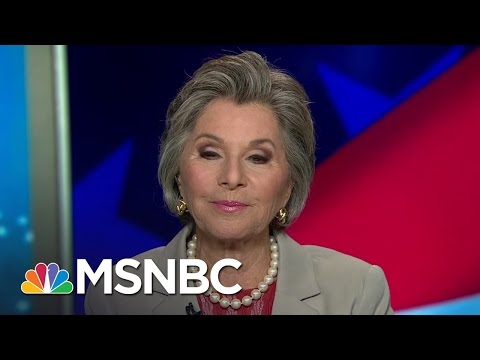 Senator Barbara Boxer: Donald Trump Is A 'Bully' And 'Coward' | Hardball | MSNBC