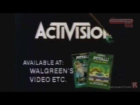 Pitfall! and Activision (Atari 2600, 1982) Feat. David Crane - Video Game Years History
