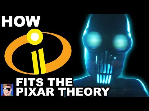 How Incredibles 2 Fits Into The Pixar Theory