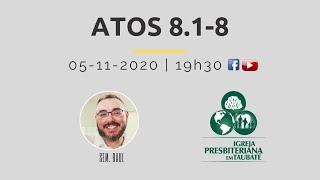 Reflexão: Atos 8.1-8 - IPT