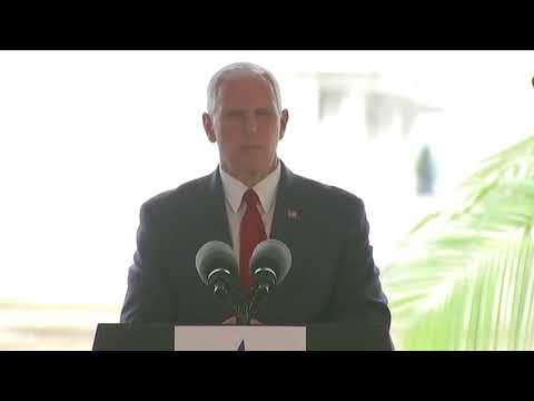 Pence: U.S. stands ready to 'punish those responsible' for Barcelona attack