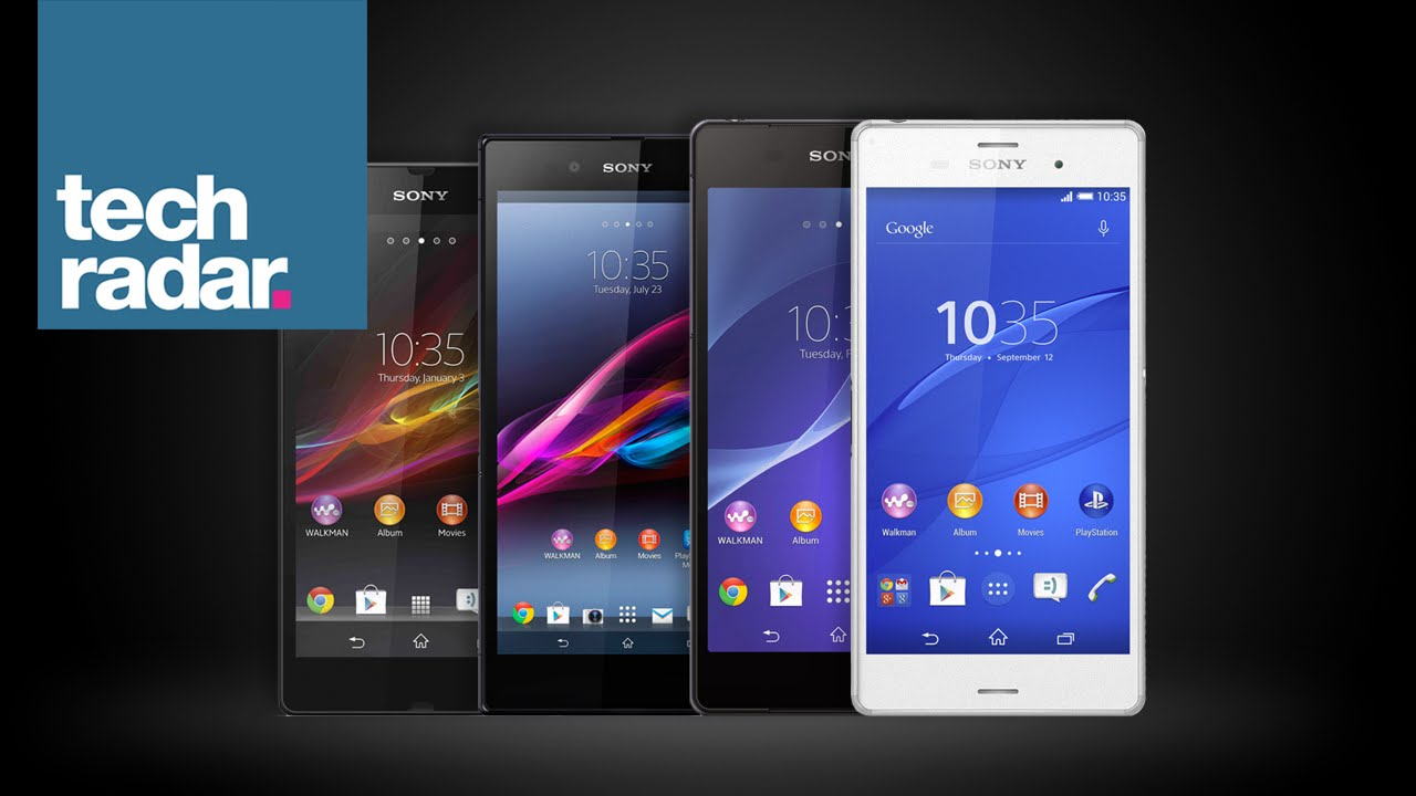 History of the Sony Xperia Z: From A to Z3 - YouTube
