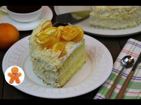 Апельсиновый торт очень