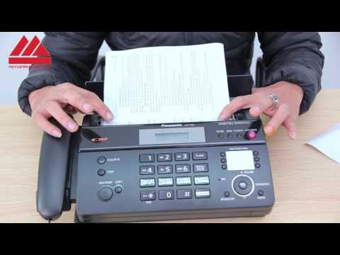 Máy Fax - Giới thiệu và hướng dẫn sử dụng máy Fax Panasonic KX-FT987