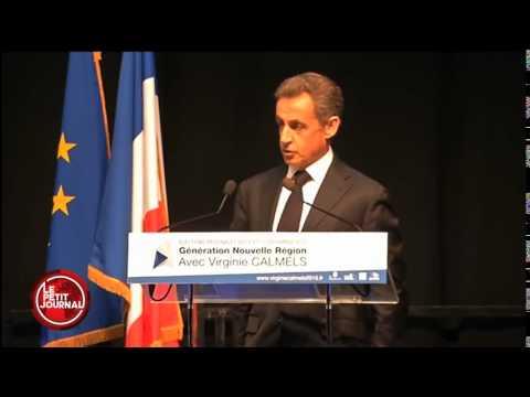 INSOLITE Sarkozy dit une phrase incompréhensible