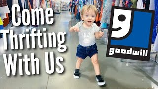 Thrift With Me: Toddler & Teen Mom