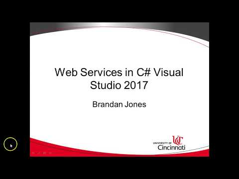 Create a simple Web Service client with WSDL in C Visual Studio 2017