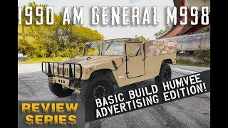 1990 AM General Basic Build Advertisement Edition [4k] | REVIEW SERIES