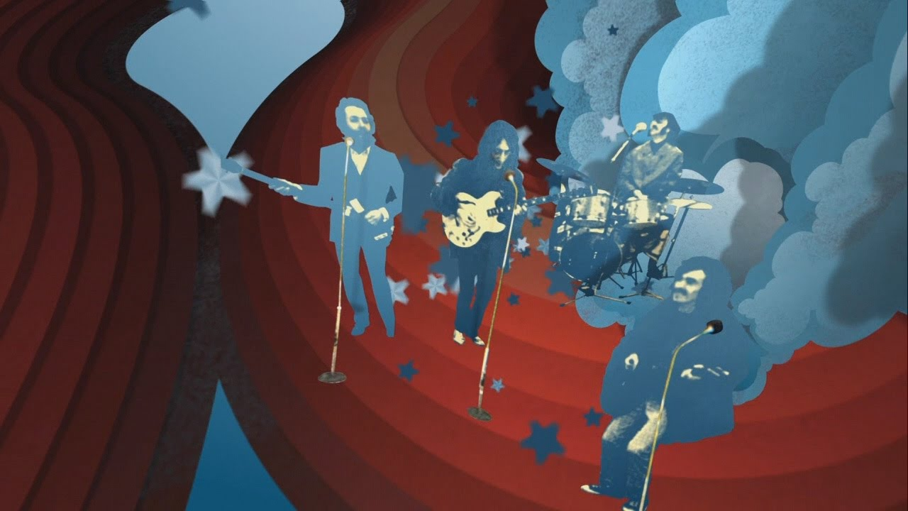 Apple Corps Rooftop '69 Intro Cutscene - The Beatles: Rock Band (REMOVED  AUDIO)