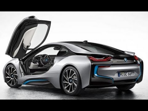 BMW I8 Electric Car FIRST LOOK!   YouTube