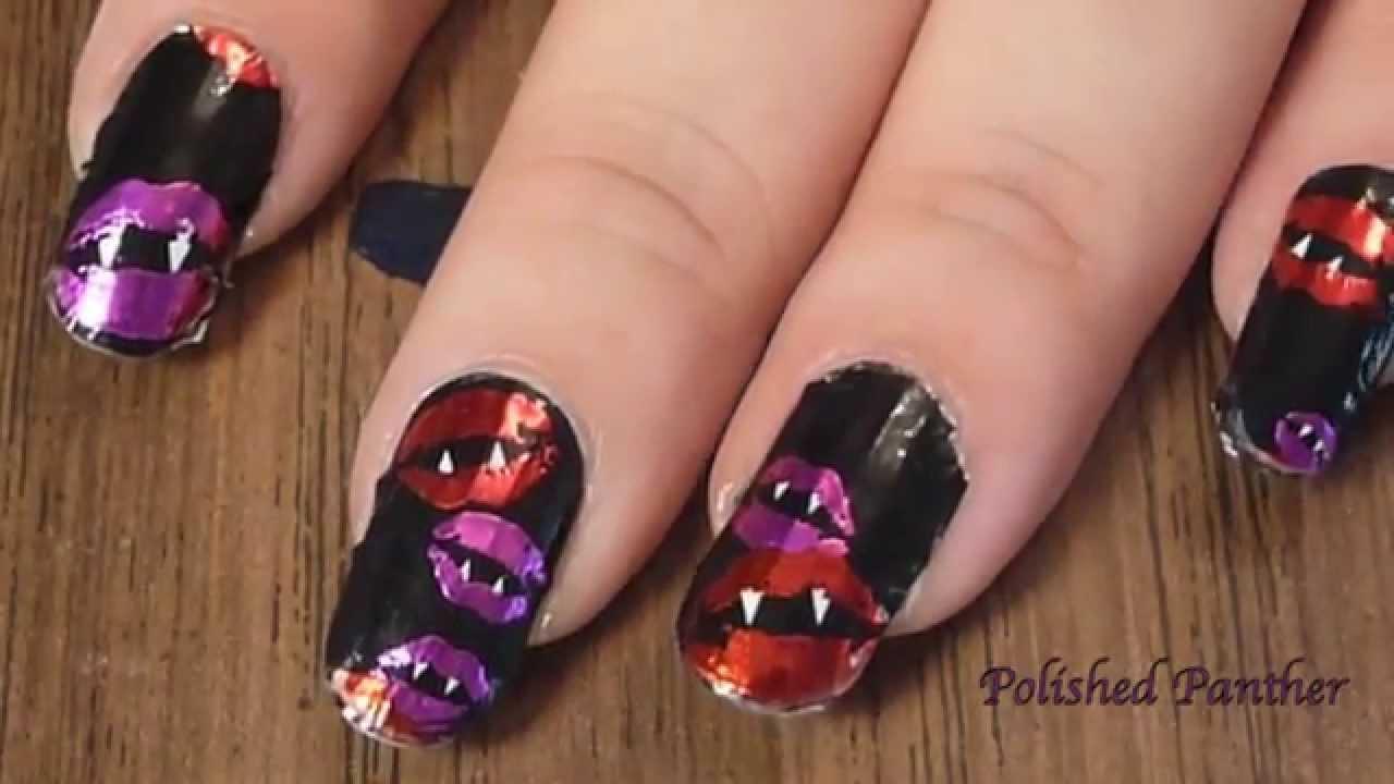 Sally Hansen 2014 Halloween Nail Stickers Review FAIL