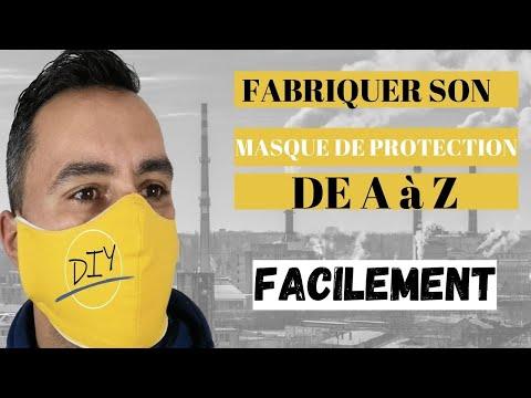 COMMENT FAIRE SON MASQUE DE PROTECTION