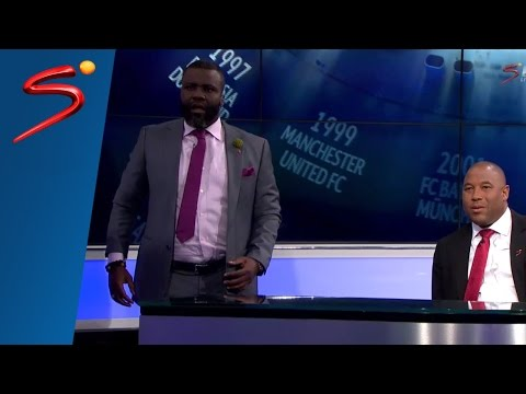 Sammy Kuffour studio reactions - Bayern Munich vs Atletico Madrid