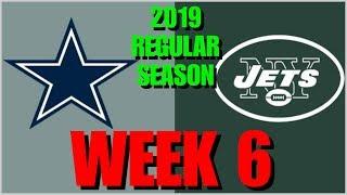 ☆**LIVE STREAM** Reaction ☆ 2019 REGULAR SEASON WEEK 6: Dallas Cowboys @ New York Jets + Post-Game!