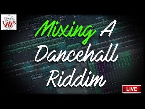 "Mixing Session ""Soul Searching Riddim"" Full Dancehall Tutorial| ?? Itz-Beez-Da TrackStar"