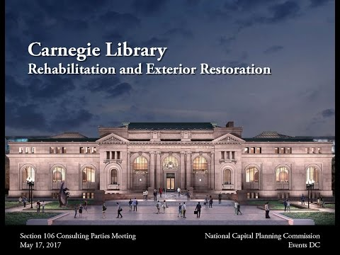 Carnegie Library Rehabilitation Section 106 Consultation Meeting
