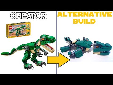 Lego Creator 31058 Mighty Dinosaurs Alternative Build Review