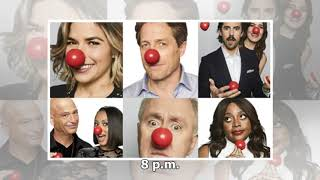 Thursday's TV highlights 'Red Nose Day' on NBC