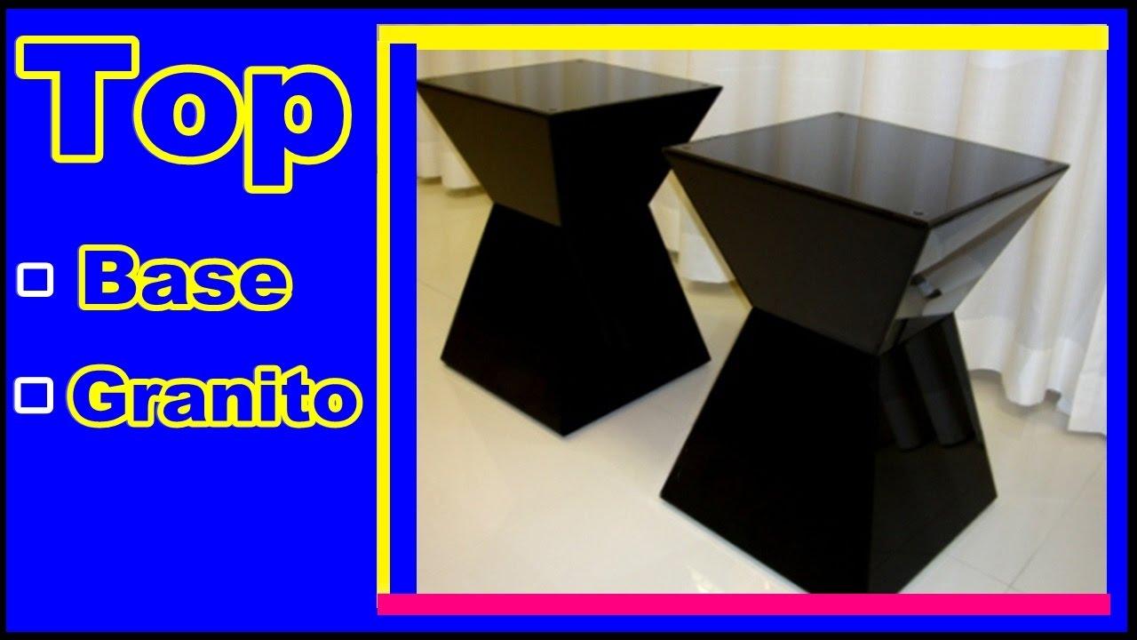 P s de mesa base de granito m rmore top 10 youtube - Mesa de granito ...
