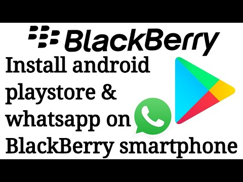 Install playstore and whatsapp on blackberry 10 in hindi || Technical Anveshan