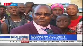 Accident kills three people along Nairobi-Nakuru highway