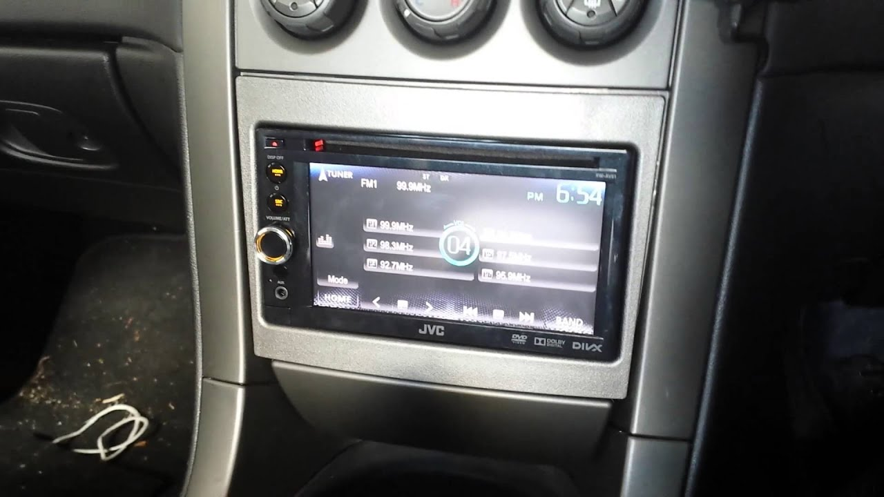 Holden Aftermarket Stereo System Mp4 Youtube