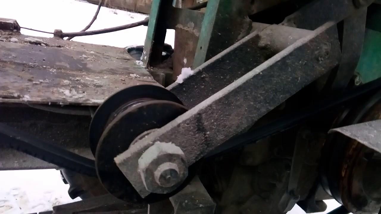 Механическая навеска на минитрактор своими руками фото 367