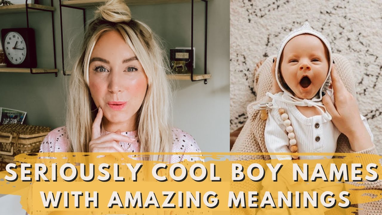 Download Seriously Cool Baby BOY NAMES with Great Meanings // SJ STRUM Baby Name Expert