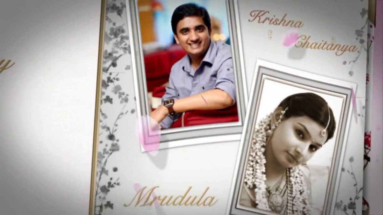 Krishna Chaitanya & Mrudula Engagement Album - YouTube
