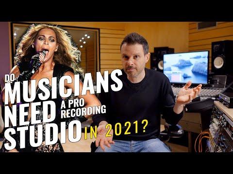 Do musicians need a professional recording studio in 2021? (studio tour)