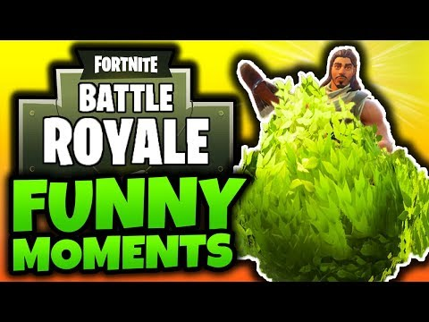 "Fortnite Battle Royale: Funny Moments! - ""KILLER BUSH!"" - (Fortnite BR Gameplay)"