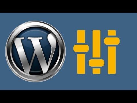 Как изменить тематику сайта на wordpress