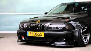 Tom's BMW E39 widebody beast