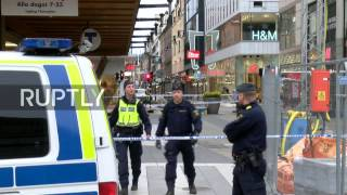 LIVE from Stockholm morning after deadly truck attack