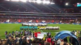 Benfica - Zenit - Hino UEFA Champions League 16/02/2016 - 4k