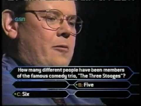 Henry Olsen on Who Wants to be a Millionaire part 2