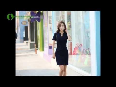 Đầm Công Sở Hàn Quốc Thời Trang - Đầm đẹp