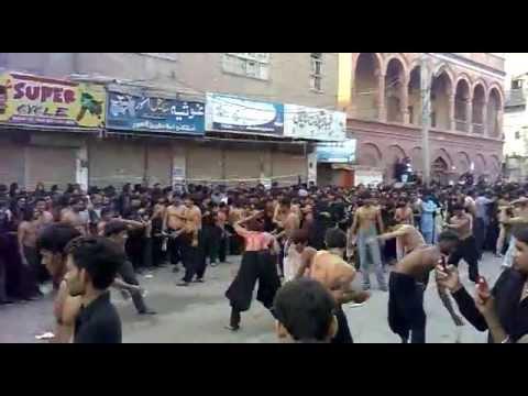 Zanjeer Zani Arbaen IMAM HUSSAIN Hyderabad Sindh Pakistan 2
