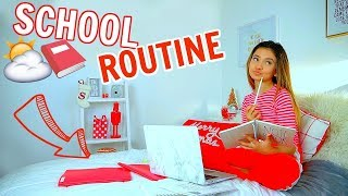 School Morning Routine 2018 Updated 📕⛅| Vlogmas 12