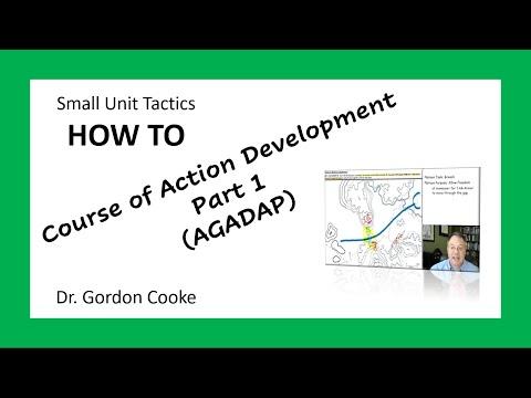 Course of Action Development Example Walk-through Part 1 (AGADAP)