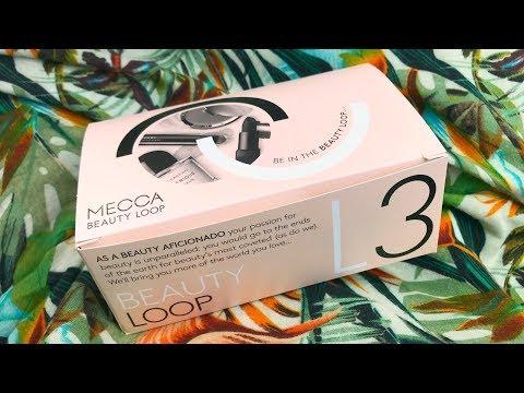 Mecca Beauty Loop Box Level 3 opening - February/summer 2018